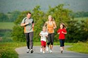 jogging family